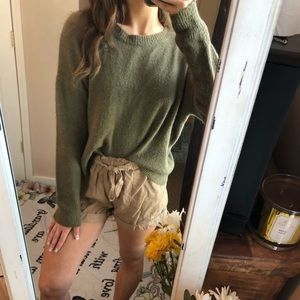 Forever 21 Olive Green Sweater — Women's M
